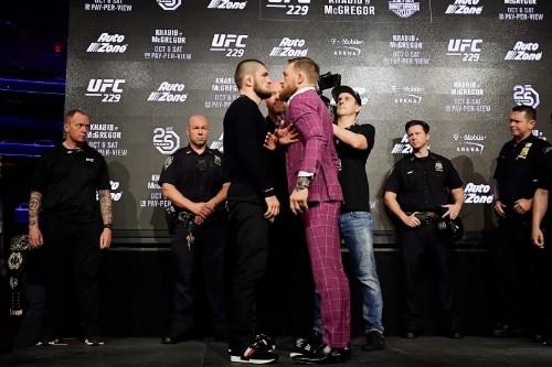 Khabib Didn't Like Conor McGregor's Cursing at UFC 229 Presser
