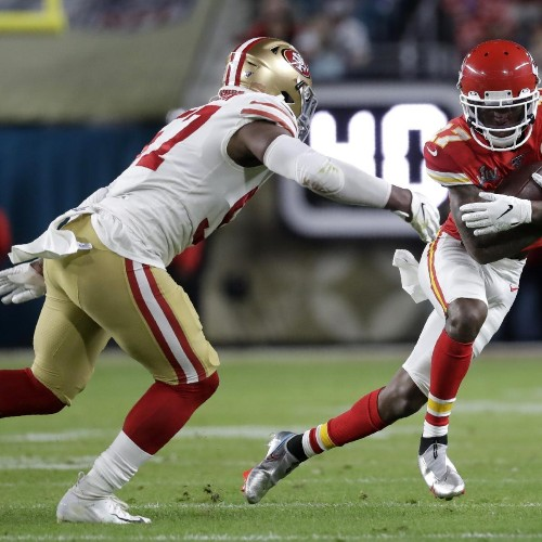 Mecole Hardman's Updated Fantasy Outlook After Chiefs Re-Sign Demarcus Robinson