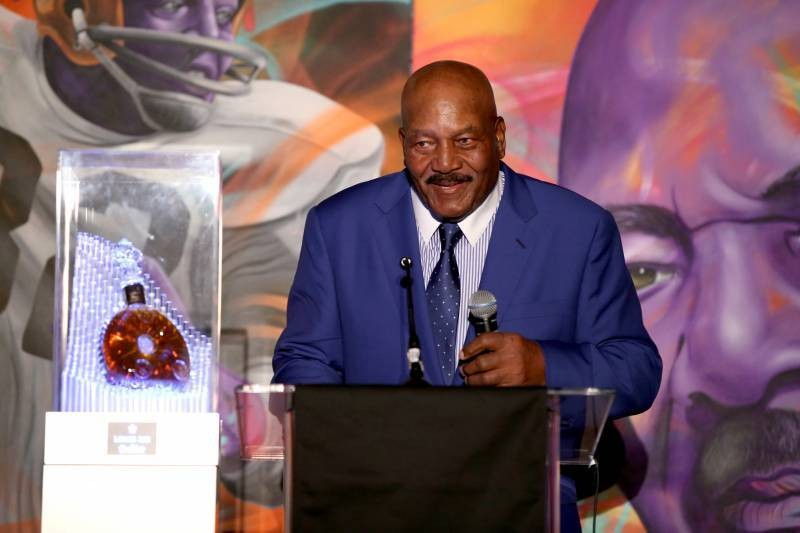 Browns Legend Jim Brown Becomes 1st Player Named to NFL's All-Time Team