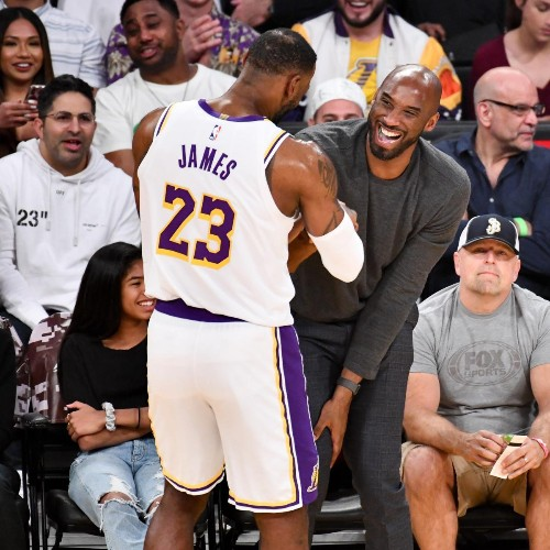 LeBron James on Kobe Bryant's Death: 'I Promise You I'll Continue Your Legacy'