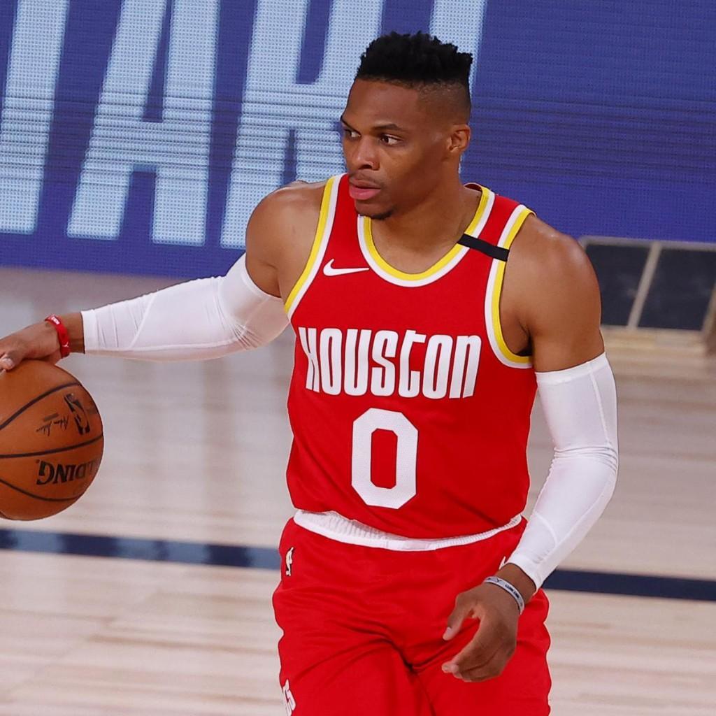 Rockets' Russell Westbrook Diagnosed with Strained Quad Injury After MRI