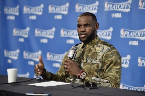 LeBron James Talks Cavaliers Win vs. Raptors, Grabbing Bottle from Beer Vendor