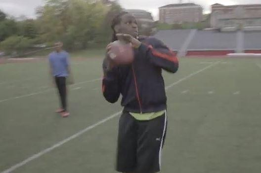Jamaal Charles Catches His Own Long Pass in this Viral Puma Ad