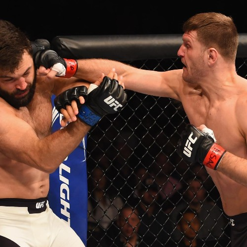 Stipe Miocic Ends Andrei Arlovski's Cinderella Run at UFC 195 with Big Knockout
