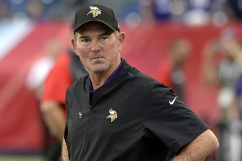 Mike Zimmer Not Worried About Vikings: This Isn't a Time for 'Woe Is Me'
