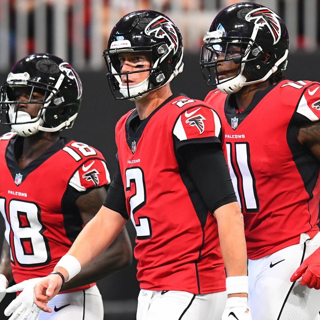 Matt Ryan Says Current Falcons Offense 'Right Up There' with 2012 Squad