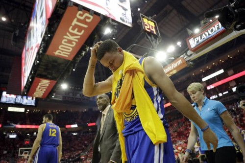 Stephen Curry Cried After Being Told He Couldn't Return vs. Rockets in Game 4