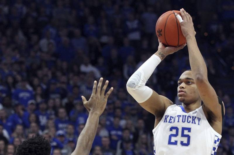 PJ Washington, No. 5 Kentucky Upset No. 1 Tennessee 86-69 in SEC Action