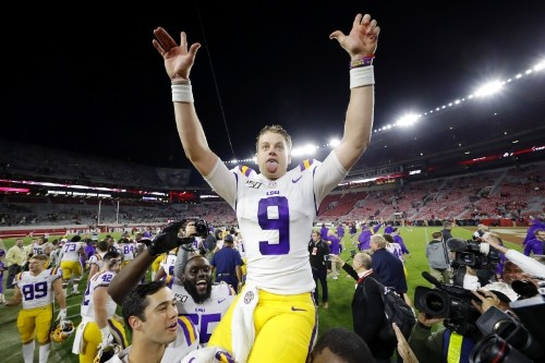 The Legend of Joe Burrow Grows as LSU Beats Alabama in Game of the Year