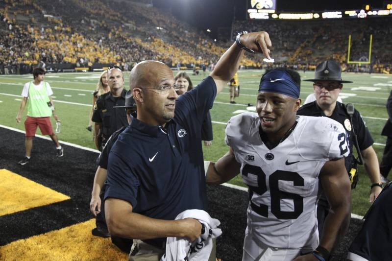 Franklin: Saquon Barkley Asked to Join Penn State Coaching Staff for Spring