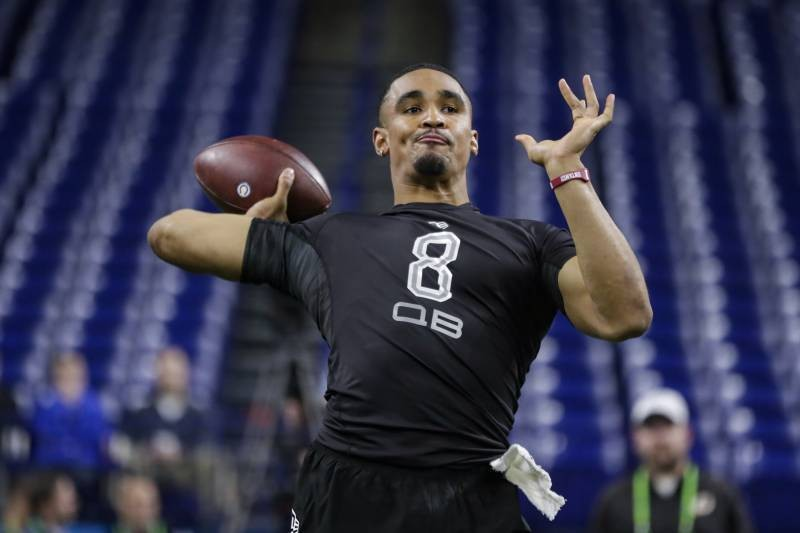 Video: Jerry Jones, Cowboys Hold Virtual NFL Draft Interview with Jalen Hurts