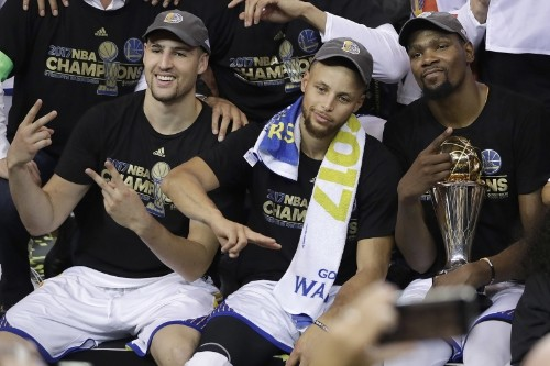 Realistic Expectations for Golden State Warriors' 2017-18 Starting Lineup