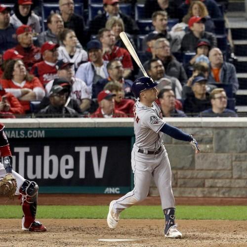 Alex Bregman, Astros Dominate Nationals in Game 4 to Even World Series 2-2