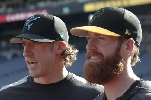 Video: Marlins' Brian Moran Strikes out Brother Colin in MLB Debut vs. Pirates