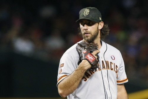 MLB Trade Rumors: Phillies Scouting Pitchers Madison Bumgarner, Zack Greinke