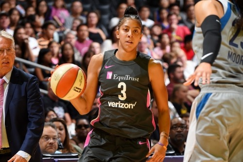 Candace Parker Double-Double Gives Sparks Win over Maya Moore, Lynx