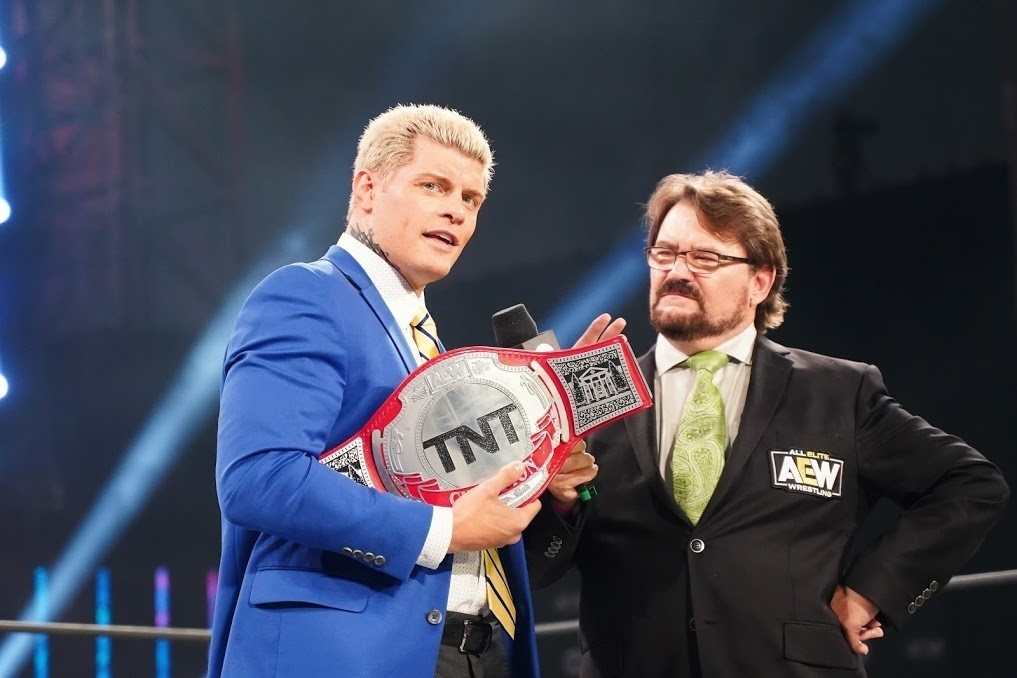 Compelling TNT Championship Defense Proves Cody Rhodes Is AEW's Big-Game Player
