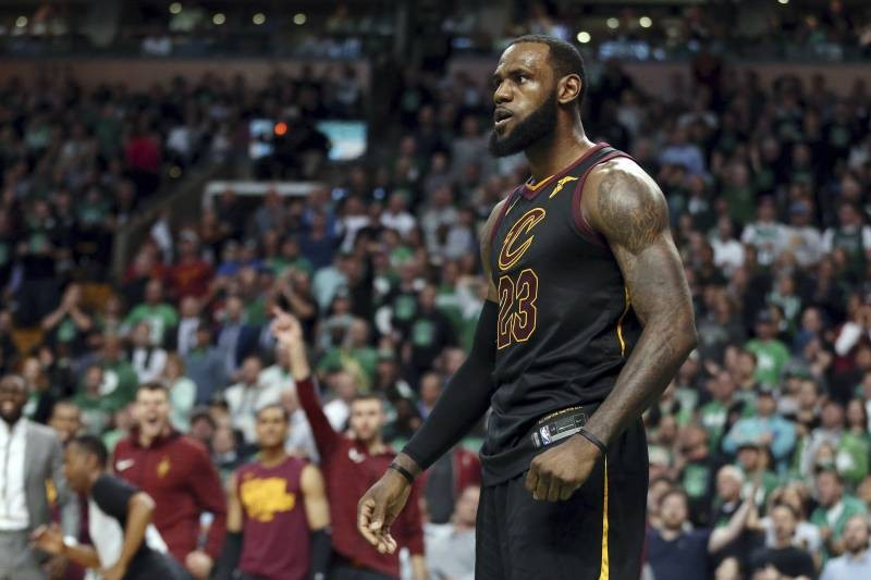 LeBron James Reaches NBA Finals for 8th Time in a Row as Cavaliers Beat Celtics