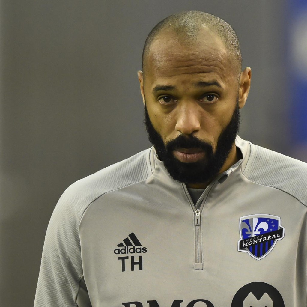 Thierry Henry Kneels for First 8 Minutes, 46 Seconds of Impact vs. Revolution