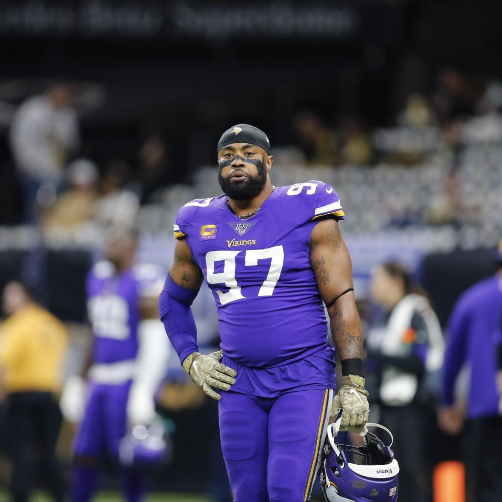 Cowboys' Updated Depth Chart After Reported Everson Griffen Contract