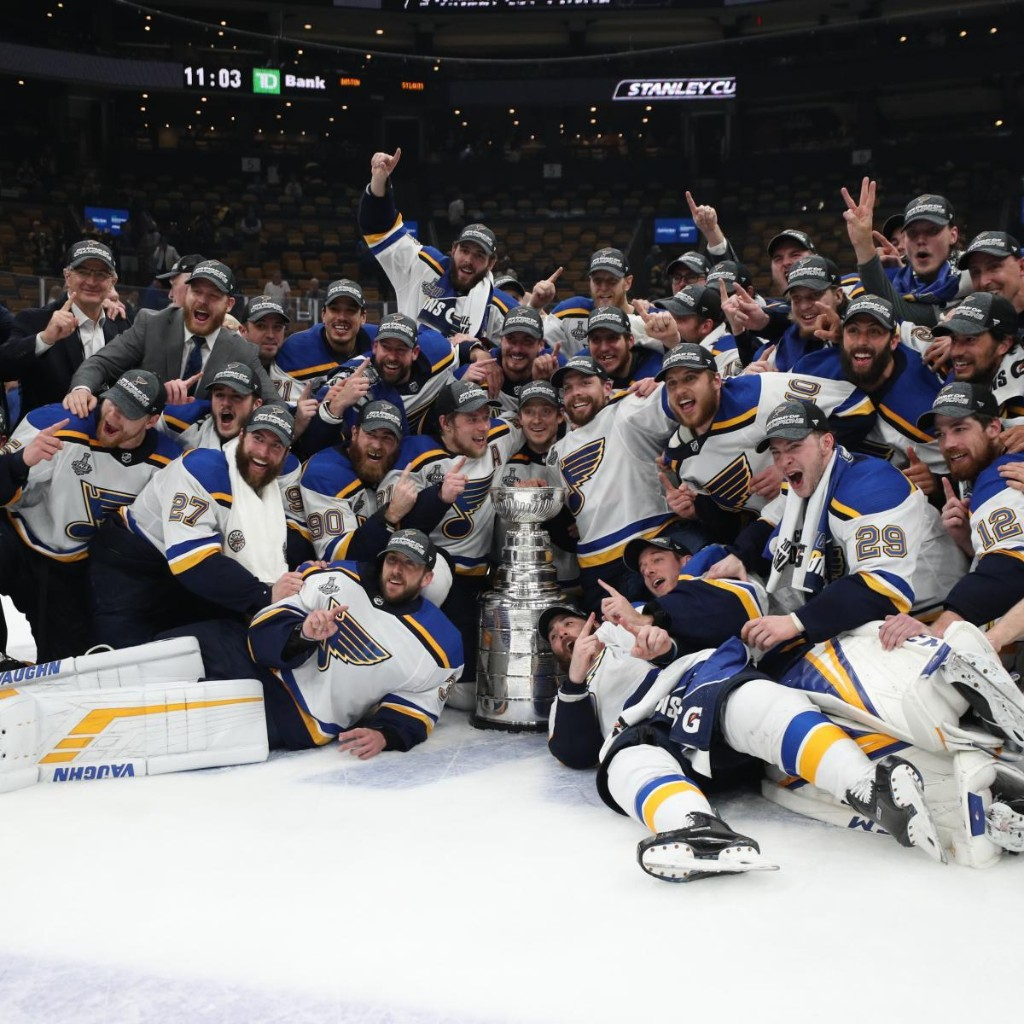 Scott Berry Wins $100K After Betting $400 on Blues to Win Stanley Cup in January