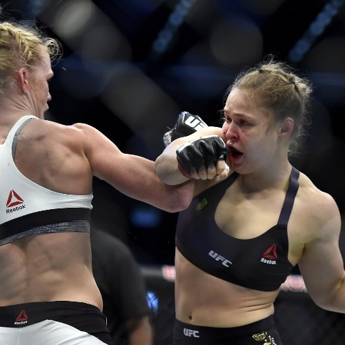 Ronda Rousey vs. Holly Holm Fight Was Fixed, Alleges Former WWE Star Taz