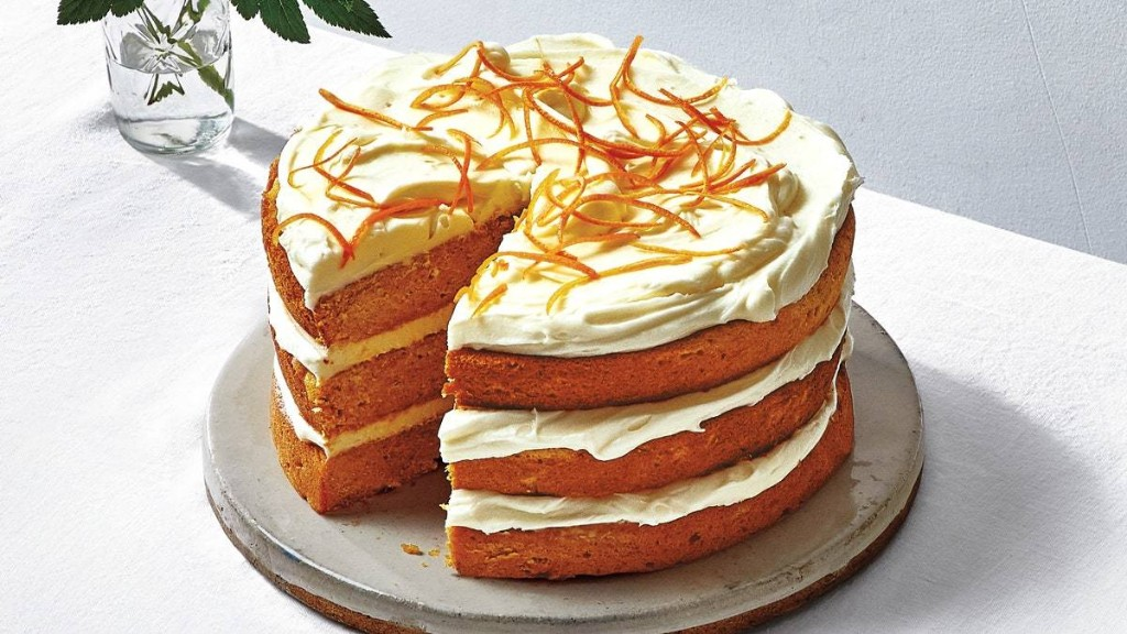 Sweet Potato Cake With Salted Cream Cheese Frosting