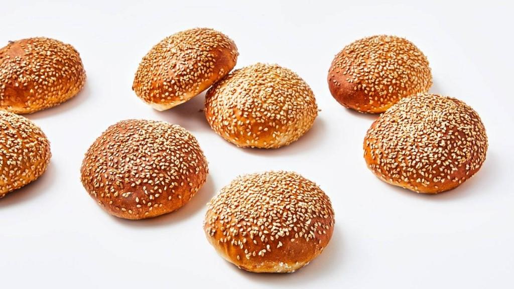 Sesame Burger Buns