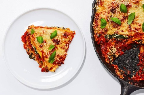 Basically Skillet Lasagna