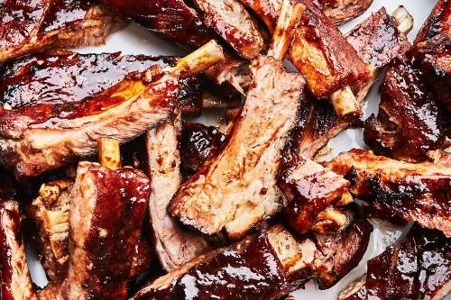 Sticky-Sweet Five-Spice Pork Ribs