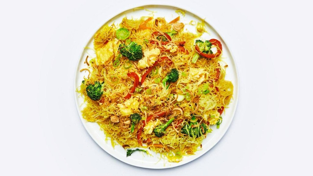 Singapore Noodles Are Best Eaten Immediately (Which Presents No Issues)