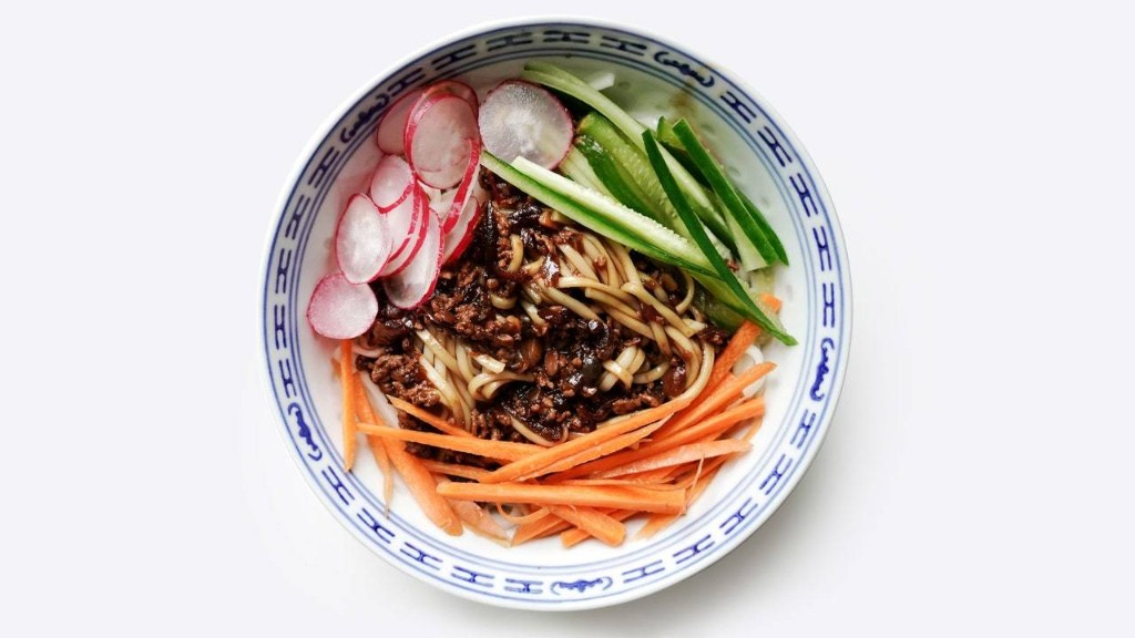 Zhajiangmian is the Perfect Combination of Salty, Sweet, and Savory