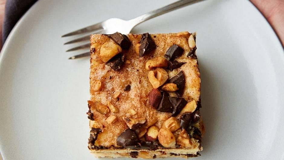 Chocolate-Cinnamon Coffee Cake