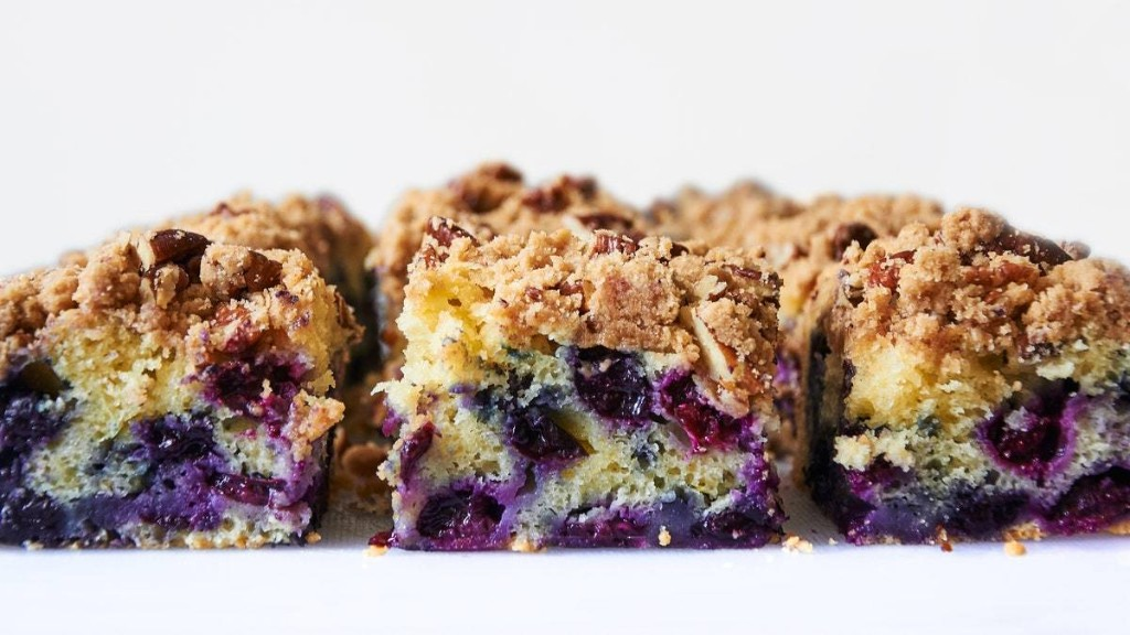 Blueberry-Ginger Buckle