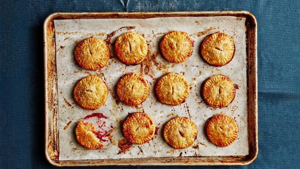 Flaky Cranberry Hand Pies