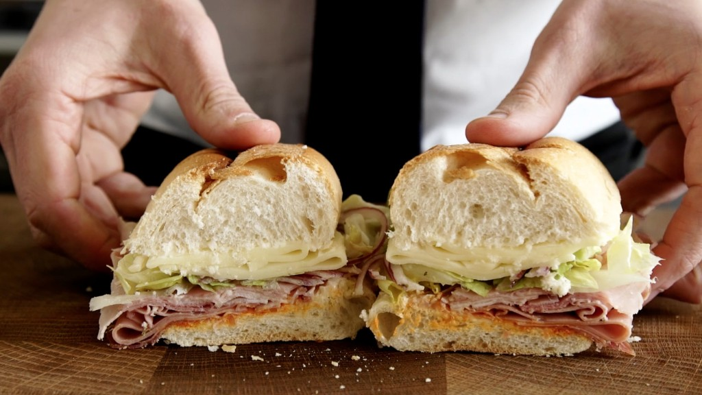 The Very Important Italian Cold-Cut Sandwich Rules