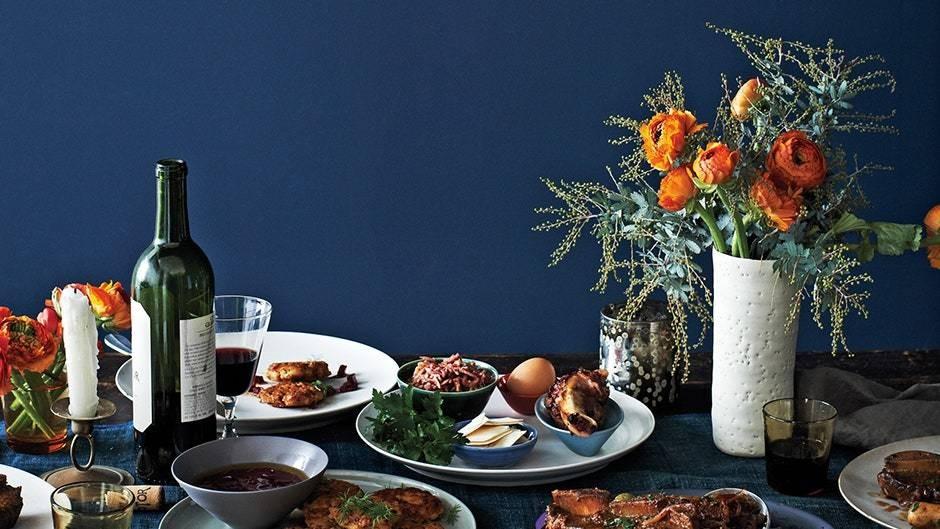 A Passover Seder Menu by Austin Zimmerman of Stopsky's Deli