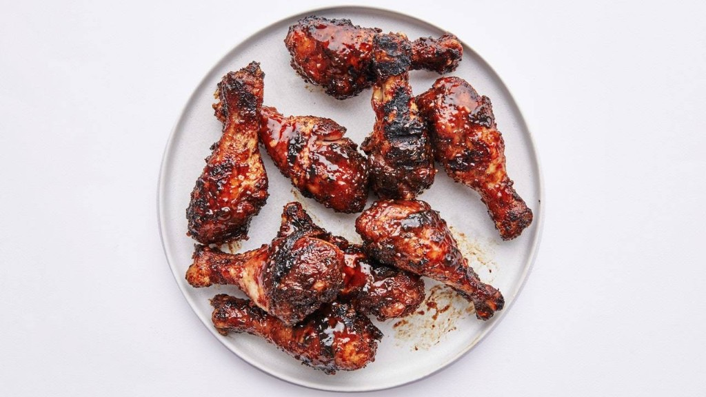 Sticky Guava Barbecue Drumsticks