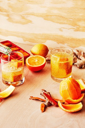 Make A Ginger Shot and Kick Your Winter Cold to the Curb
