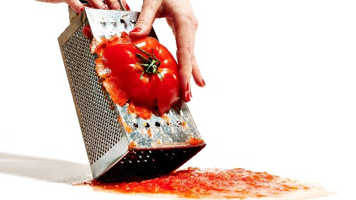 Stop What You're Doing and Go Grate a Tomato