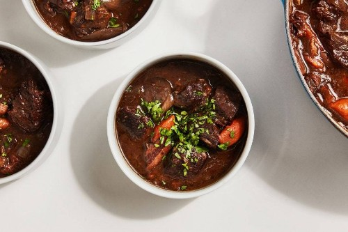 Beef and Bacon Stew