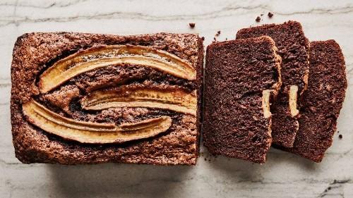 Blackout Chocolate Banana Bread