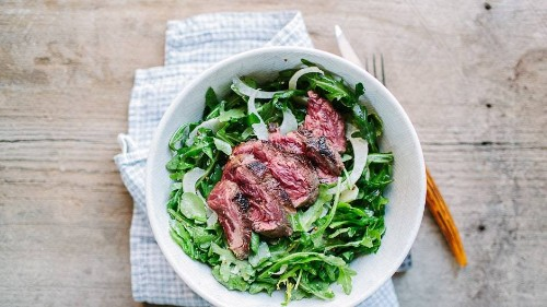 Steak and Arugula Salad