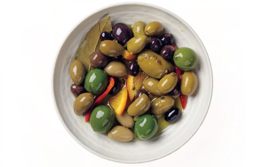 olives - Magazine cover