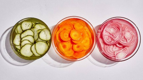 Quick-Pickled Vegetables