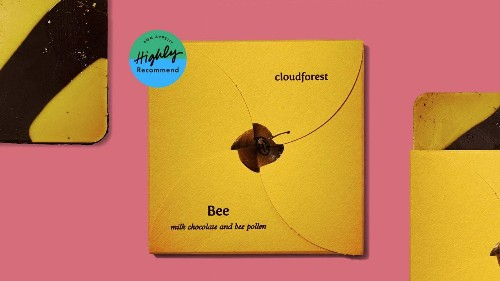 I'd Happily Eat This Bee Pollen Chocolate Bar as a Daily Supplement