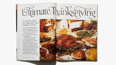 My Family's Cooked Thanksgiving Out of BA's November 1994 Issue Since 1994