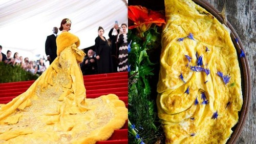 Met Gala Outfits that Remind Us of Our Recipes - Bon Appétit Recipe