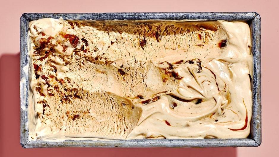 Miso Butter Pecan Ice Cream