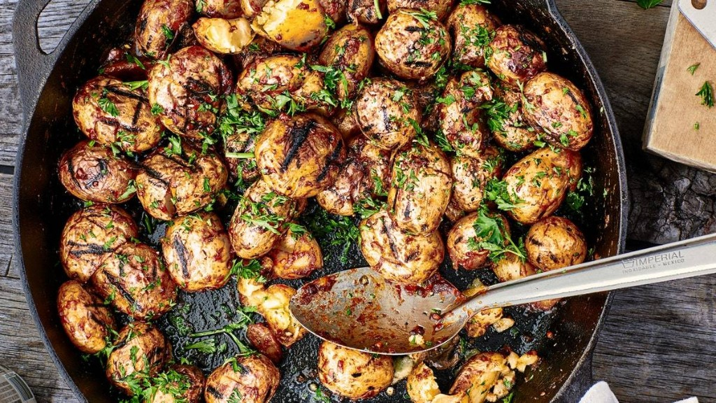 Miso-y Grilled Potatoes